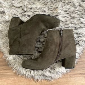 Aldo Suede Ankle Booties
